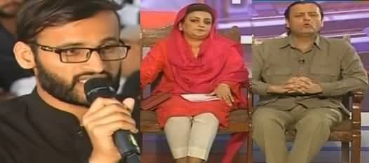Takrar (PMLN, PTI Faces Tough Questions of Students) - 3rd April 2019