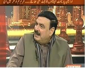 Takrar (Shaikh Rasheed Ahmed Exclusive Interview) - 21st December 2013