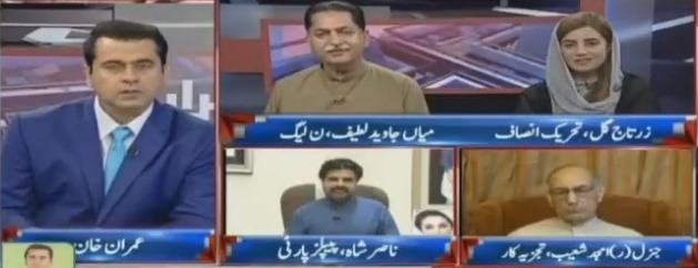 Takrar (What Is The Difference Between PTI & PMLN) - 7th August 2018