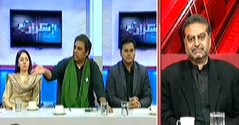 Takrar (What is the Reaction of Karachiites on PTI's Protest) - 12th December 2014