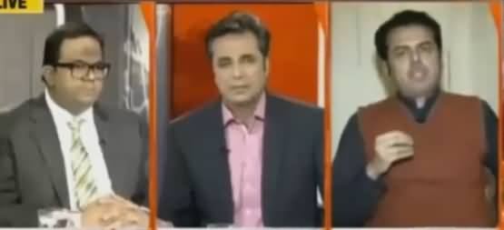 Talat Hussain Grills Talal Chaudhry on Filing Case Against Imran Khan After Panama Issue