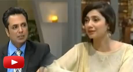 Talat Hussain Special Interview with Mahira Khan in TUC Lighter Side of Life With Mahira Khan