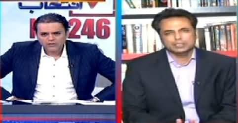 Talat Hussain Telling What Was Actual Reason Behind PTI's Decision to Contest NA-246 By-Election