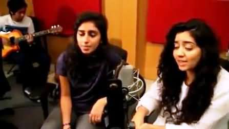 Talented Pakistani Girls Band Singing a Very Beautiful Song