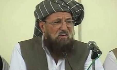 Taliban's Struggle is For the Supremacy of Law in Pakistan - Maulana Sami ul Haq