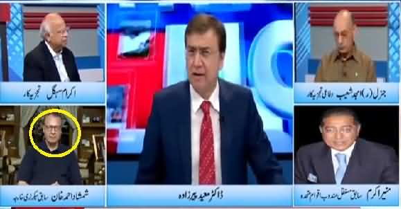 Talking About War In A Talk Show Is Easy But Kashmiri's Will Be Direct Victim Of War - Shamshad Khan