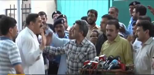 Tarjaman election commission kie press conference kay duran larai