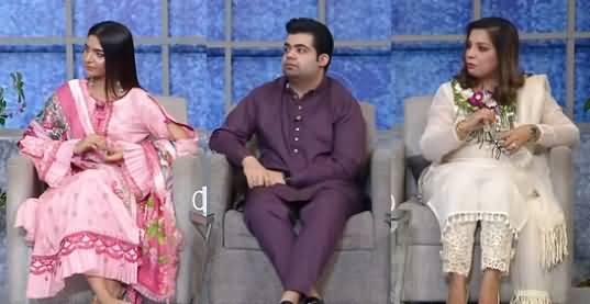 Taron Sey Karen Batain (Guests: Momina Tariq, Momina Waheed, Ahsan Shoaib) - 25th August 2021