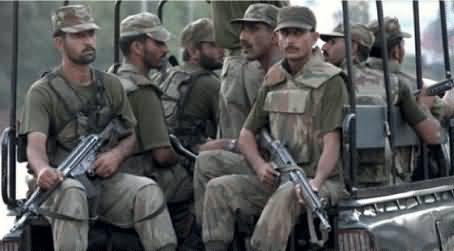 Terrorists Attack in Peshawar, Pak Army Major Martyred, 3 Terrorists Killed