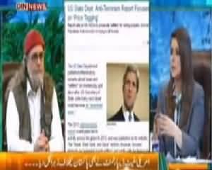 The Debate with Zaid Hamid (American Propaganda Against Pakistan) - 3rd May 2014