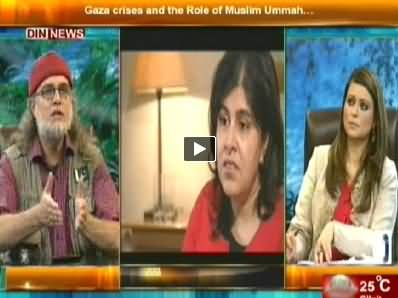 The Debate with Zaid Hamid (Gaza Par Hamla Aur Muslimano Ka Kirdar) - 10th August 2014