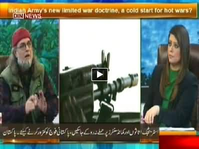 The Debate with Zaid Hamid (Indian Army's New limited War Doctrine) - 1st June 2014