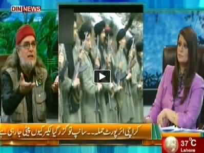 The Debate with Zaid Hamid (Karachi Airport Attack) – 13 June 2014