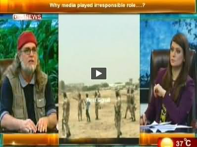 The Debate with Zaid Hamid (Karachi Airport Attack) – 15th June 2014