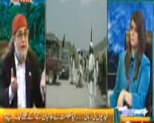 The Debate with Zaid Hamid (Nation Waiting For the Result of Peace Talks) – 4th April 2014