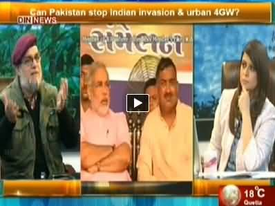 The Debate With Zaid Hamid (Pakistan India Relations) – 20th April 2014