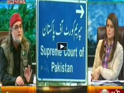 The Debate with Zaid Hamid (Protests Are Dangerous For This Govt) - 10th May 2014