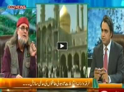 The Debate with Zaid Hamid (Sectarian Violence an International Conspiracy) – 13th July 2014