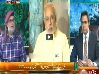 The Debate with Zaid Hamid (What is The Future of People in Gaza) - 19th July 2014