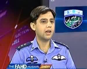 The Fahad Hussain Show (Special Program on Pakistan Air Force on Defence Day) - 6th September 2013
