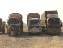 The Goods Looted From the NATO Containers Are Being Sold in the Markets of Afghanistan