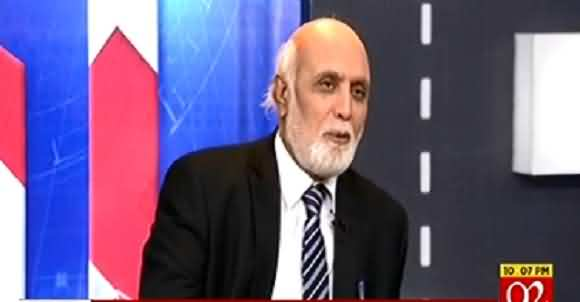 The Plan To Make Fazal ur Rehman PM And Nawaz Sharif President Is Now Being Implemented - Haroon Rasheed
