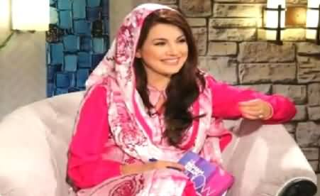 The Reham Khan Show (Sharmeen Obaid Chinoy Exclusive Interview) – 14th June 2015