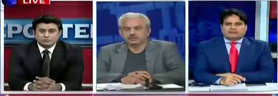 The Reporters (Ahsan Iqbal Ki Chief Justice Per Tanqeed) - 25th April 2018
