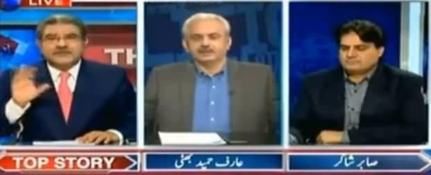 The Reporters (Dawn Leaks, Asal Mujrim Bach Gaye) - 25th April 2017