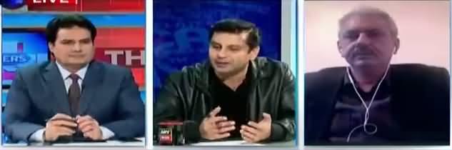 The Reporters (Imran Khan Aur Sheikh Rasheed Ki Parliament Per Lanat) - 18th January 2018