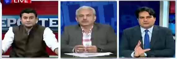 The Reporters (Nawaz Sharif Aur Maryam Nawaz Ki Wapsi) - 10th July 2018