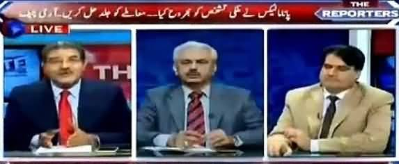 The Reporters (PM  Nawaz Sharif & Army Chief Meeting) – 10th May 2016