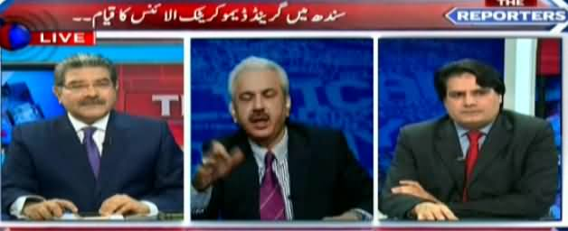 The Reporters (Who Was Behind Dharna in Islamabad)– 30th March 2016