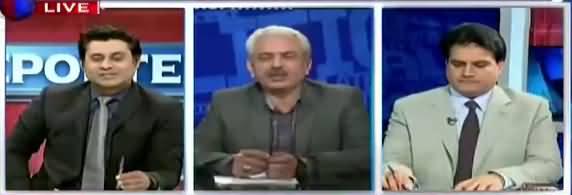 The Reporters (Why Nawaz Sharif Want Raza Rabbani As Chiarman Senate) - 8th March 2018