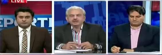 The Reporters (Zardari Aur Nawaz Sharif Mein Lafzi Jang) - 1st May 2018