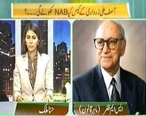 The Right Angle (Asif Zardari Kay Case Kya NAB Kholay Gi?) - 9th September 2013