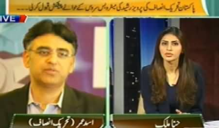 The Right Angle (Govt Reaction on PTI's Rally At D Chowk) – 12th May 2014