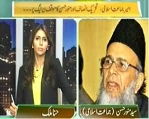 The Right Angle (PTI and Munawar Hassan Views On PMLN) - 16th September 2013