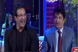 The Umer Sharif Show (Waseem Akram) Part-1 – 21st January 2017
