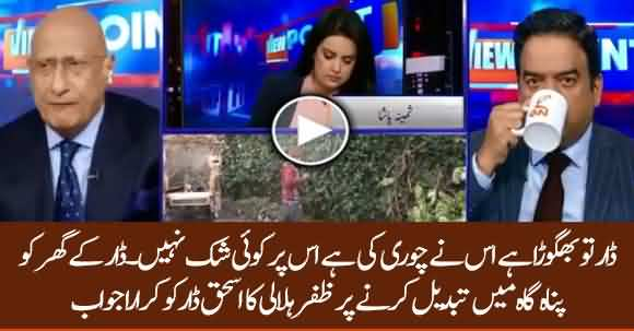 There Is No Doubt That Ishaq Dar Committed Theft - Zafar Hilaly Analysis