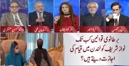 Think Tank (Nawaz Sharif's Future in London?) - 6th August 2021