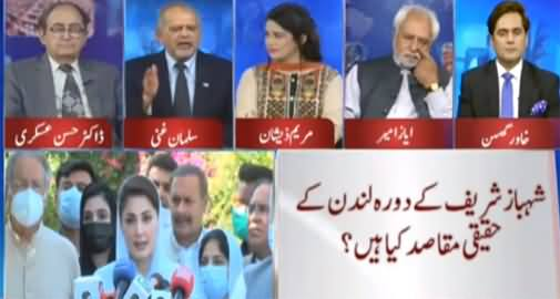 Think Tank (Shahbaz Sharif Stopped By Govt) - 8th May 2021
