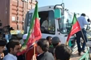 Third Day of PTI Workers Dharna, No NATO Supply Allowed, Afghan Tranist Trade Continue As Usual