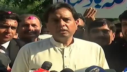 This Govt Has Gun Support - Captain (R) Safdar Media Talk