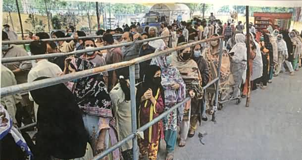 This Is 21st Century's Pakistan: Long Queues of People To Get Just 2 KG Sugar