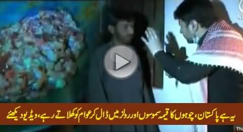 This is Pakistan: Chohon (Rats) Ka Qeema Samooson Aur Rolls Mein Daal Kar Awaam Ko Khilate Rahe