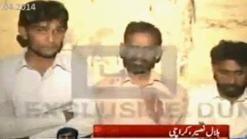 Three Bhatta Khors Caught By People and Beaten Up then Handed Over to Police
