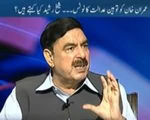 To The Point - 31st July 2013 (Imran Khan Touheen Adalat ka Notice. Shiekh Rasheed Views)