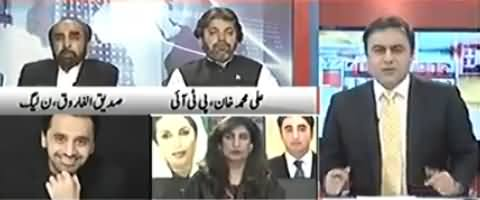 To The Point (Ayesha Gulalai Allegations on PMLN) – 16th February 2018