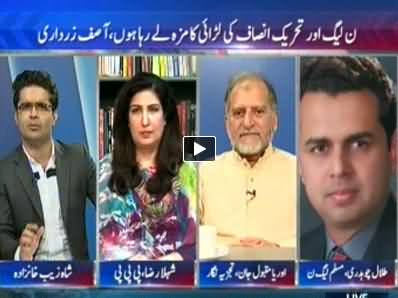 To The Point (I am Enjoying PMLN and PTI Fight - Zardari) – 9th October 2014